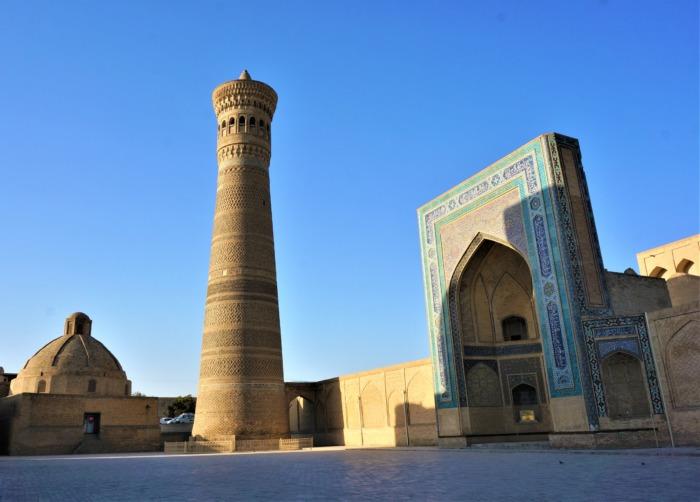ウズベキスタンのブハラ遺跡