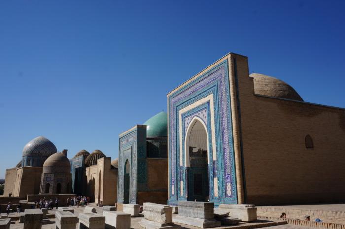 ウズベキスタンの観光地