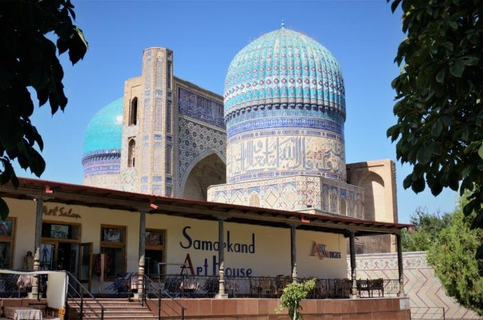サマルカンドのビビハニムモスク