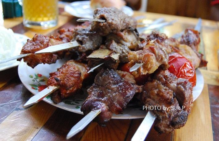 ウズベキスタン料理シャシリク